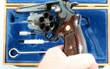 """1964 CASED SMITH & WESSON MODEL 29-2 PINNED BARREL .44 MAG. CAL. 6 ½"""" REVOLVER IN ORIG FACTORY WOOD DISPLAY BOX. - 7 of 7"""