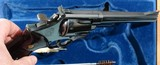 """1964 CASED SMITH & WESSON MODEL 29-2 PINNED BARREL .44 MAG. CAL. 6 ½"""" REVOLVER IN ORIG FACTORY WOOD DISPLAY BOX. - 5 of 7"""