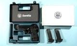 1998 RARE BERETTA MODEL 8045 8045F MINI COUGAR .45ACP SEMI-AUTO PISTOL WITH NIGH SIGHTS. - 1 of 5