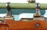 WW1 IMPERIAL GERMAN MAUSER GEWEHR 98 GEW98 SNIPER RIFLE WITH SCOPE AND CLAW MOUNTS. - 8 of 10