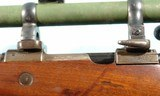 WW1 IMPERIAL GERMAN MAUSER GEWEHR 98 GEW98 SNIPER RIFLE WITH SCOPE AND CLAW MOUNTS. - 7 of 10