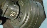 WW2 GERMAN WEHRMACHT BWZ FE 37 R GAS MASK. - 2 of 13
