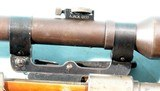 WW2 MAUSER K98K GUSTLOFF WERKE BCD/1944 8MM SNIPER RIFLE W/ORIG. AJACK 4X90 SCOPE. - 3 of 11