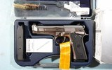 LIKE NEW IN BOX BERETTA 96 STEEL 1 SA (SINGLE ACTION ONLY) .40S&W PISTOL, CIRCA 2004. - 2 of 8