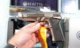 LIKE NEW IN BOX BERETTA 96 STEEL 1 SA (SINGLE ACTION ONLY) .40S&W PISTOL, CIRCA 2004. - 5 of 8
