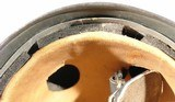 WW2 GERMAN M38 GREY/GREEN CAMO PARATROOPER FALLSCHIRMJAGER HELMET. - 7 of 10