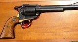 "CASED EARLY (1ST 12 MONTHS) RUGER SUPER BLACKHAWK .44 MAGNUM 7 1/2"" REVOLVER WITH RARE LONG GRIP FRAME, CIRCA 1959-60. - 3 of 12"