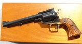 "CASED EARLY (1ST 12 MONTHS) RUGER SUPER BLACKHAWK .44 MAGNUM 7 1/2"" REVOLVER WITH RARE LONG GRIP FRAME, CIRCA 1959-60. - 5 of 12"