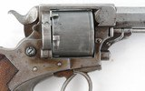 BRITISH TRANTER 1868 DOUBLE ACTION .450 CF CAL. ARMY REVOLVER. - 3 of 9