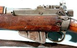 WW2 BRITISH MALTBY SMLE NO.4 MK.1 .303 CAL. INFANTRY RIFLE DATED 1943. - 3 of 11