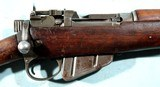 WW2 BRITISH MALTBY SMLE NO.4 MK.1 .303 CAL. INFANTRY RIFLE DATED 1943. - 6 of 11