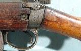 WW2 BRITISH MALTBY SMLE NO.4 MK.1 .303 CAL. INFANTRY RIFLE DATED 1943. - 4 of 11