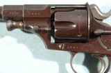 SUPERIOR IMPERIAL GERMAN MODEL 1879 SINGLE ACTION 11MM REICHSREVOLVER WITH REGIMENTAL MARKINGS. - 4 of 10