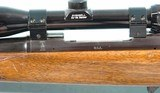 BRITISH BIRMINGHAM SMALL ARMS CO. HUNTER MODEL .30-06 CAL. BOLT ACTION SPORTING RIFLE W/BUSHNELL BANNER 3X9 SCOPE CA. 1960'S. - 3 of 8