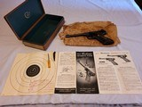 COLT WOODSMAN TARGET MODEL from 1951 BOXED