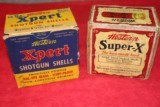 Western Expert12 Ga. (Partial - 17 Shells) and Western Super-X 2 Pc. Box (Partial -17 Shells)
