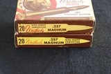 Weatherby Ultra-Velocity .257 Weatherby Magnum Soft Point - 2 Full Boxes (Bear & Tiger Box) - 3 of 6