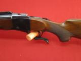 Ruger No. 1 Chambered in .458 Win. Mag. Checkered Wood Furniture Nice Bluing