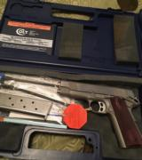 Colt Combat Commander (stainless, unfired)