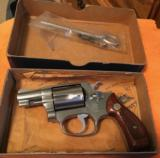 Smith and Wesson 60 (orig. box and paper)
