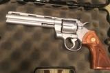 Colt Python (6 in., hard chrome)