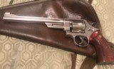Smith and Wesson 27-2 (Nickel, 8 3/8 inch barrel)