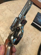 Smith and Wesson 19-4 (nickel, 2 inch, P and R., gorgeous!) - 3 of 6
