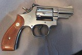 Smith and Wesson 19-4 (nickel, 2 inch, P and R., gorgeous!) - 2 of 6