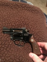 Smith and Wesson Pre-model 43 (blue, 2 in., extremely rare!)