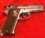 Smith and Wesson 39-2 (near mint, nickel)