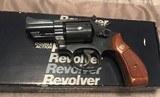 Smith and Wesson 19-5 (snub, original box, and tools)