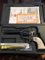 Ruger New Model Single Six (4 5/8 in. barrel, .32 H&R Magnum)