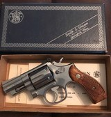 Smith and Wesson 66-1 (2 1/2 inch, stainless, non-orig. box)