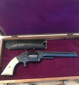 Smith and Wesson Model 2 (Nimtzke engraved, 6 inch, ivory handles) - 1 of 14