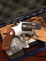 Smith and Wesson 63-3 ( 1 7/8ths, 22LR, original box and papers) - 2 of 7