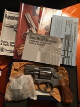 Smith and Wesson 63-3 ( 1 7/8ths, 22LR, original box and papers) - 7 of 7
