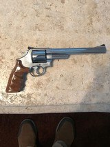 Smith and Wesson 657 (8 3/8ths, combats, full target)