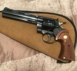Colt python (6 in, blue, nice grips)
