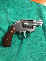 Smith and Wesson 64-2 (snub, wood grips)