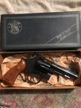 Smith and Wesson 58 (4 in, blue, box)
