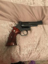 Smith and Wesson 19-3 (blue, 4 in)