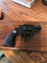 Colt Bankers Special (2 in, blue, 1931) - 2 of 7