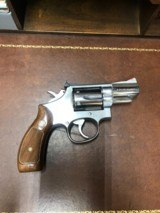 Smith and Wesson 66-2 (2.5 in, wood grips)