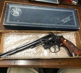 Smith and Wesson 17-4 (8 3/8ths, blue, box)