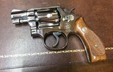 Smith and Wesson 10-7 (2 in, nickel)