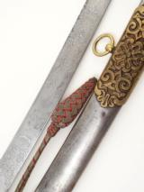 LORD ERNEST W. HAMILTONS BEAUTIFUL 11TH HUSSARS MAMELUKE SWORD 1878