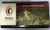 Nosler Custom Loaded 222 Rem Mag Ammuntition