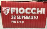 Fiocchi 38 Super Auto