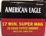 Federal American Eagle 17WSM
