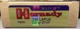 Hornady Match 338 Lapua 250 gr BTHP
